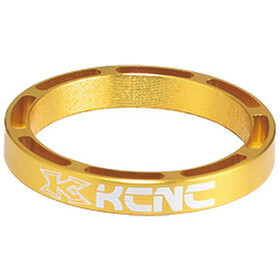 "KCNC Hollow Design Headset Spacer 1 1/8"" 3/5/10/14/20mm gold"